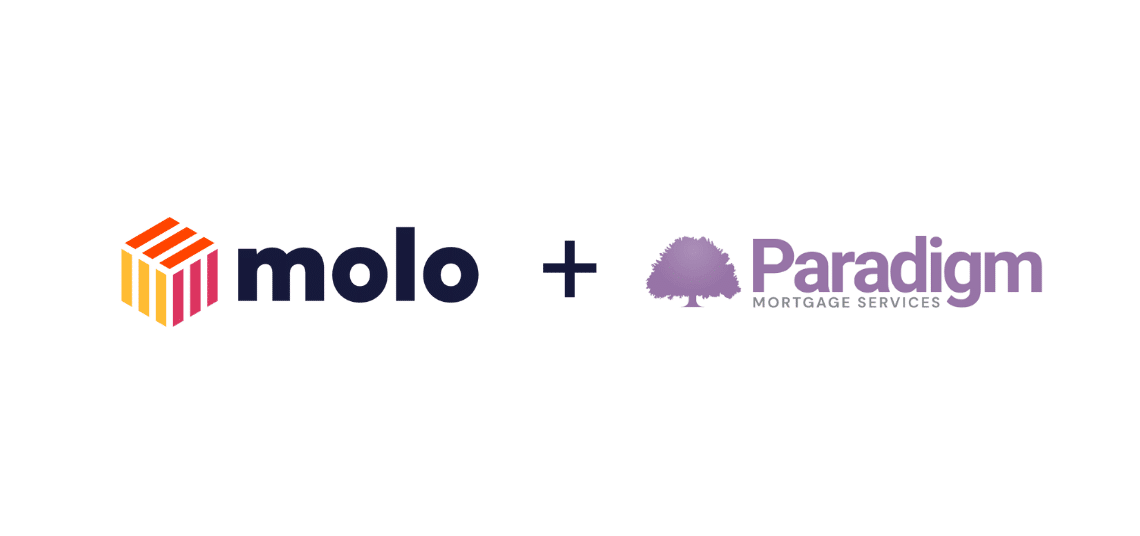 Molo partners with Paradigm Mortgage Services